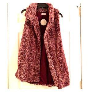 NWT Boutique Sherpa Vest